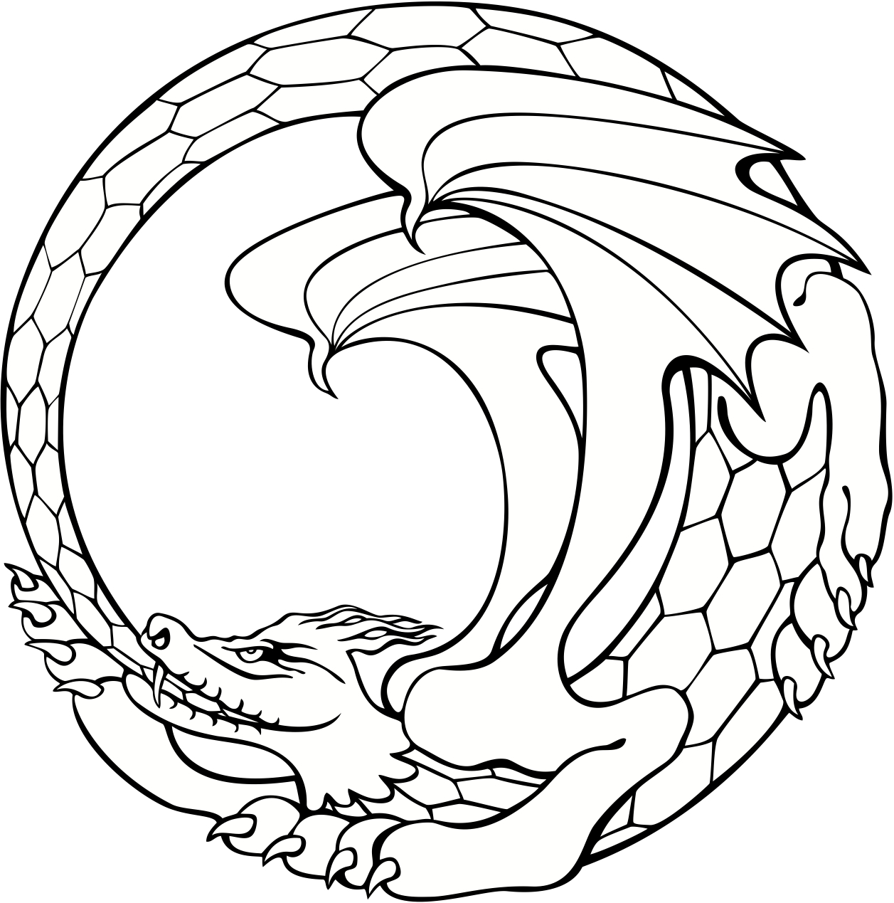 Tribal Dragon Tattoos together with  in addition 315322411381336990 additionally 544794886143901198 also 348747564868132474. on 37 tribal dragons for sticker design inspiration