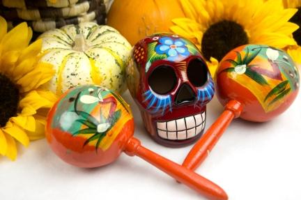Dia de los Muertos Altar Offerings