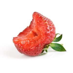 Strawberry With One Bite