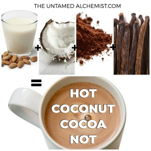 The Untamed Alchemist's Hot Coconut Cocoa