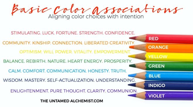 basic color associations