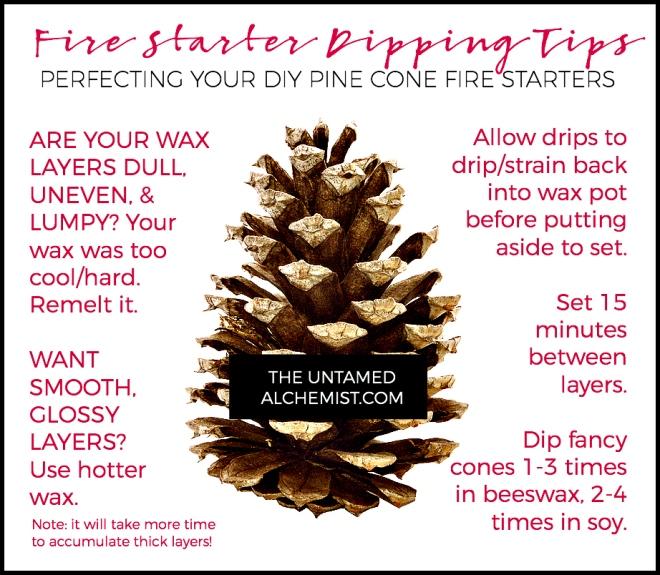 fire starter dipping tips